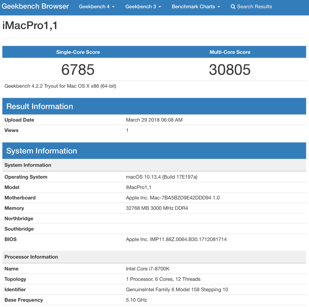 High Sierra 10 13 4 (17E199) iMacPro1,1 updated in Customac